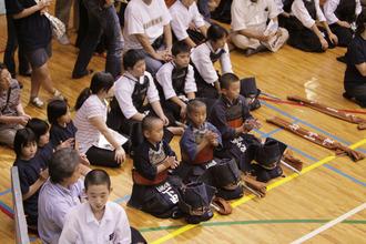 第二回 禅旗争奪少年剣道大会の様子