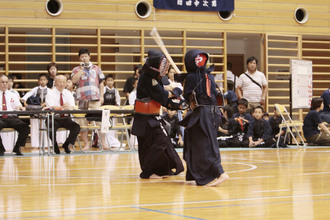 第三回 禅旗争奪少年剣道大会の様子
