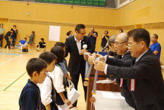 第四回 禅旗争奪少年剣道大会の様子