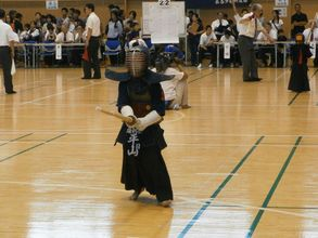 第五回 禅旗争奪少年剣道大会の様子