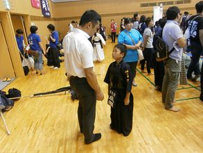 第六回 禅旗争奪少年剣道大会の様子