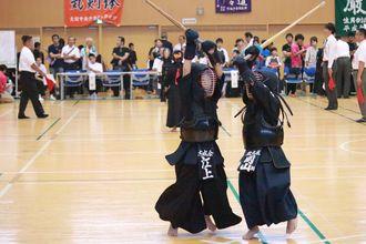 第七回 禅旗争奪少年剣道大会の様子