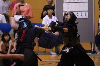第八回 禅旗争奪少年剣道大会の様子