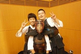 第九回 禅旗争奪少年剣道大会の様子